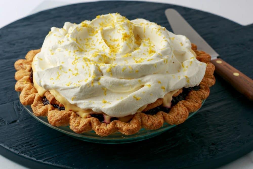 blueberry victoria pie from Zupan's Markets