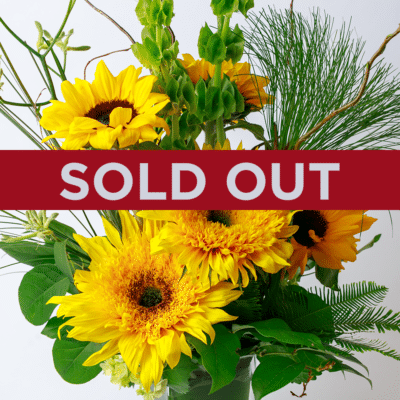 Sold out floral arrangement from Zupan's Florist