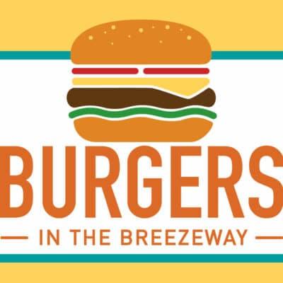 Burgers in the Breezeway banner