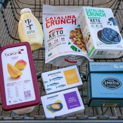 photo of a shopping cart from Zupan's