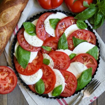 Caprese salad from Zupan's