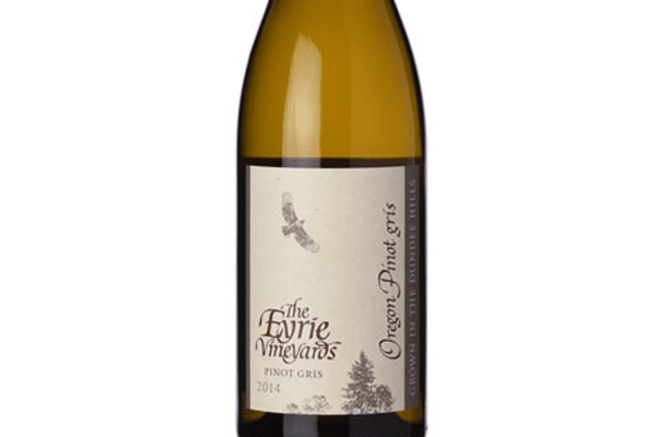The Eyrie Vineyards Pinot Gris bottle
