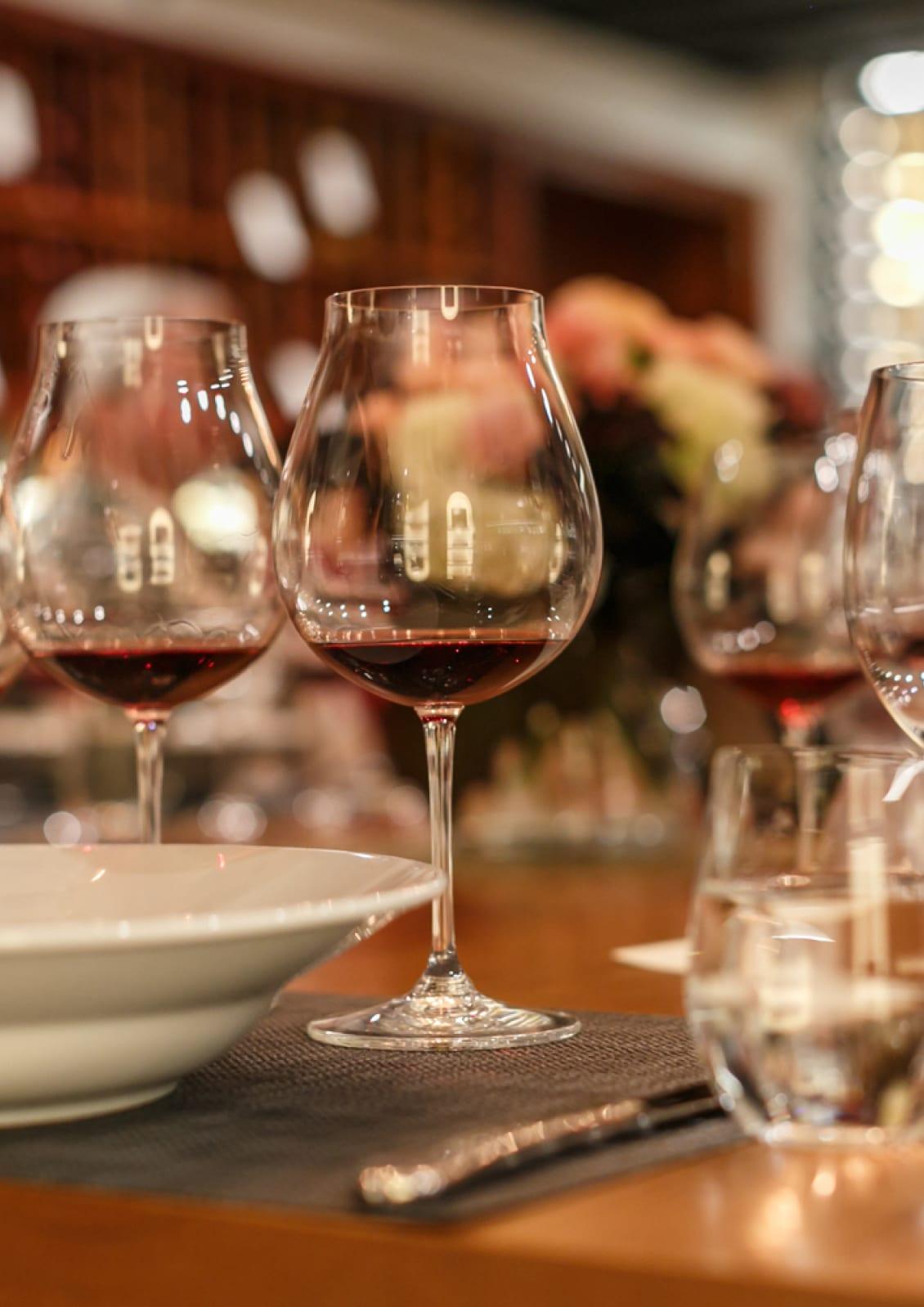 glass of Oregon Pinot Noir