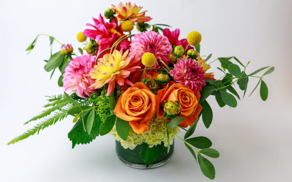 photo of the Sept 26 floral bouquet from Zupan's