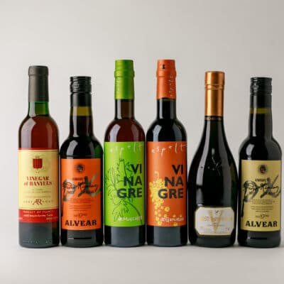 Imported vinegars available at Zupan's Markets