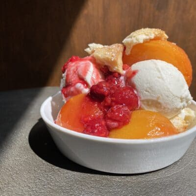 Peach Melba from Zupan's Markets